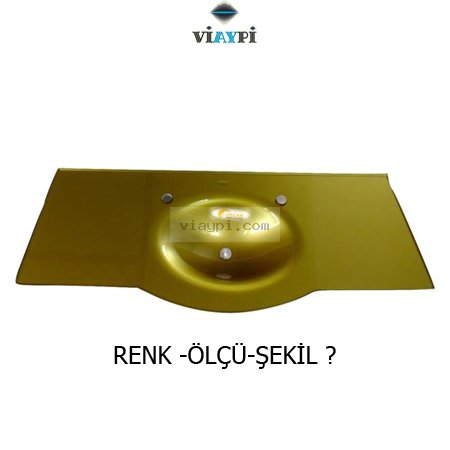 Golden Glass Sink Vyp-z3