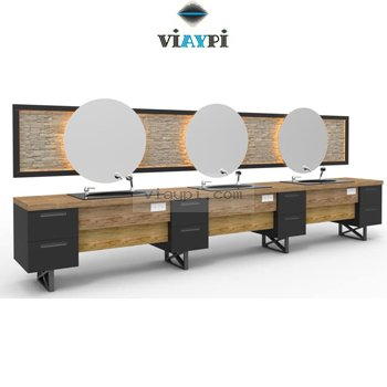 Barber Mirror Station Vyp-b2