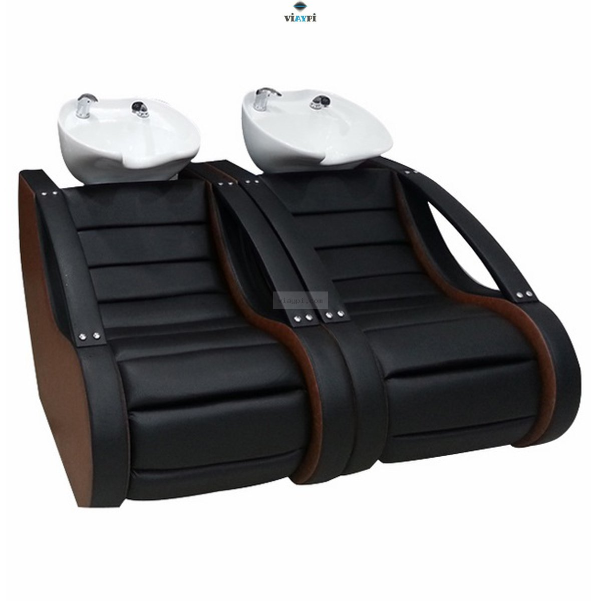 Double Sh&oo Chair Vyp-0118  sc 1 st  Hairdresser furniture Hairdresser chair Salon equipment & Double Shampoo Chair Vyp-0118 Viaypi.com!